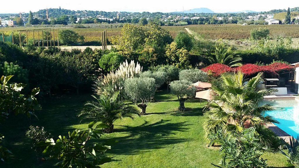 Environnement des Coquilloux gîte et réception à Castelnau-le-Lez